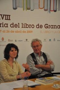 Dulcinea Otero-Piñeiro y Chris Stewart